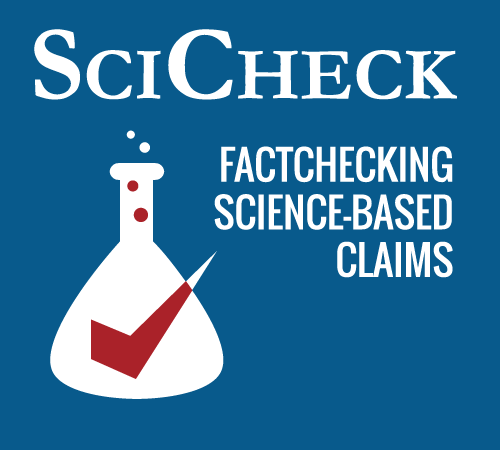 Factcheck.org added a science feature in early 2015 specifically to grapple with scientific claims in the political sphere.